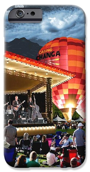 Temecula iPhone Cases - Midnight Glow iPhone Case by Ronald Chambers