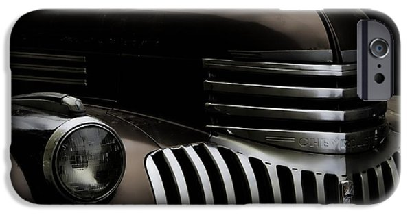 Painter Photo Photographs iPhone Cases - Midnight Grille iPhone Case by Ken Smith