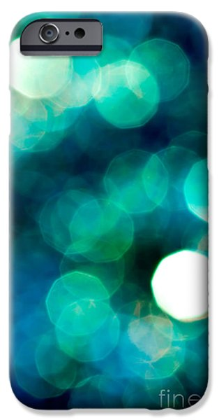 Abstract Art Photographs iPhone Cases - Midnight Magic iPhone Case by Jan Bickerton