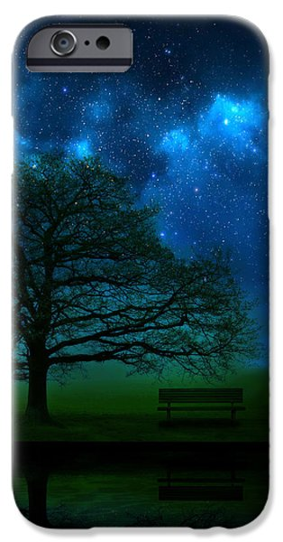 Morning iPhone Cases - Midnight iPhone Case by Mark Rogan