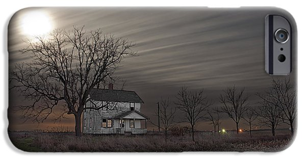The White House Photographs iPhone Cases - Midnight Moon iPhone Case by Tom Phelan