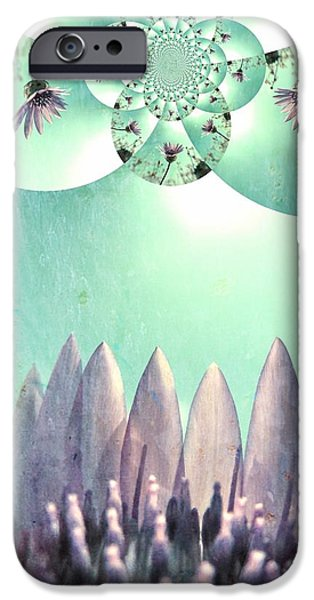 Midsummer iPhone Cases - Midsummer Vision iPhone Case by Marianna Mills