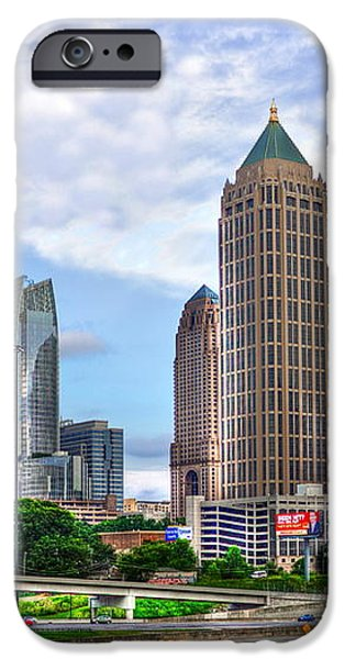 Midtown Atlanta Too iPhone Case by Reid Callaway