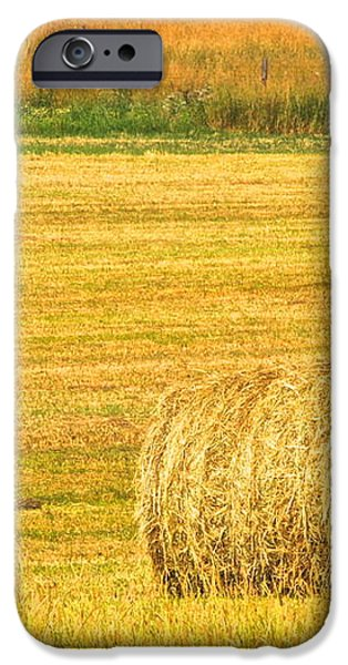 Midwest Farming iPhone Case by Frozen in Time Fine Art Photography