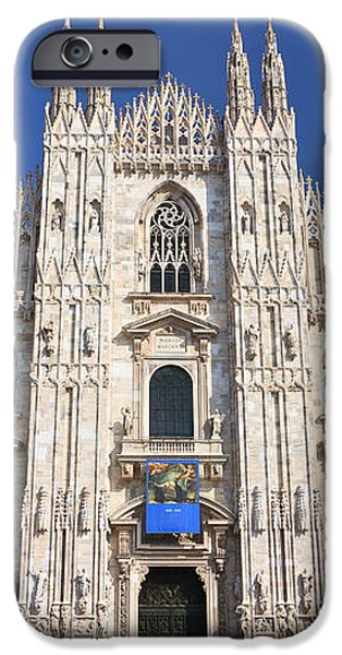 Milan cathedral  iPhone Case by Antonio Scarpi