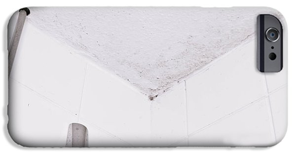 Bathroom iPhone Cases - Mildew iPhone Case by Tom Gowanlock