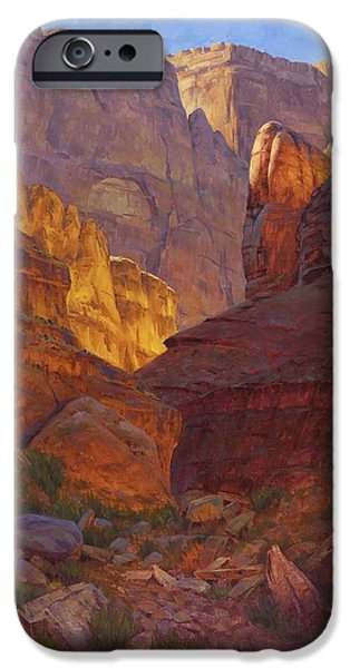 Grand Canyon iPhone Cases - Mile 202 Canyon iPhone Case by Cody DeLong