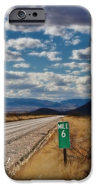 Rucker iPhone Cases - Mile 6 iPhone Case by Henry Kowalski