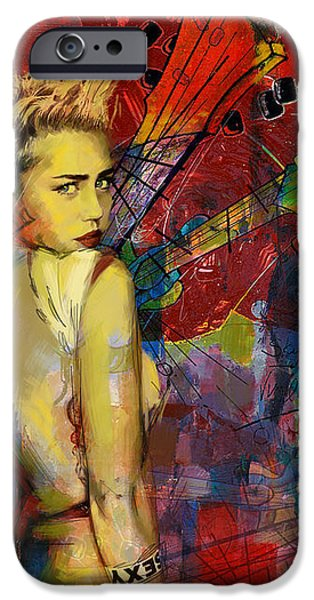 Affordable iPhone Cases - Miley Cyrus iPhone Case by Corporate Art Task Force