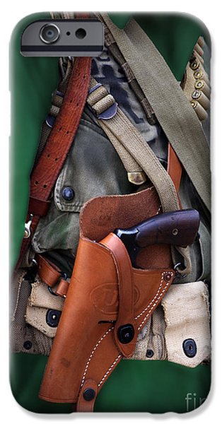 Military Small Arms 02 WW II iPhone Case by Thomas Woolworth