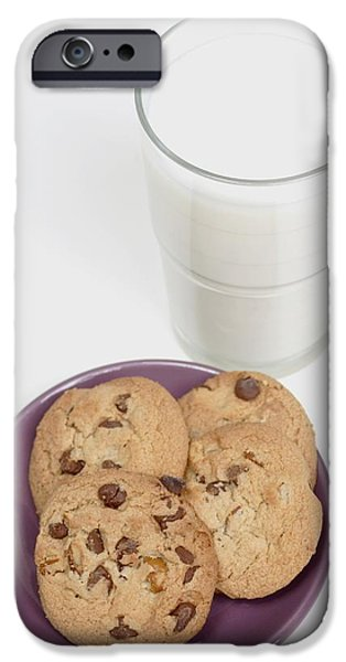 Will Power iPhone Cases - Milk And Cookies iPhone Case by Greenwood GNP