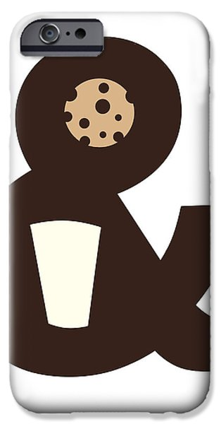 Clever iPhone Cases - Milk and Cookies iPhone Case by Neelanjana  Bandyopadhyay