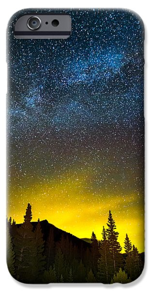 Beauty Mark iPhone Cases - Milky Way Dreams iPhone Case by Mark Andrew Thomas