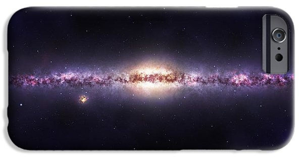 Astral iPhone Cases - Milky way galaxy iPhone Case by Celestial Images