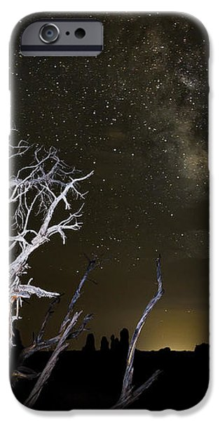 Milky Way over Arches National Park iPhone Case by Adam Romanowicz
