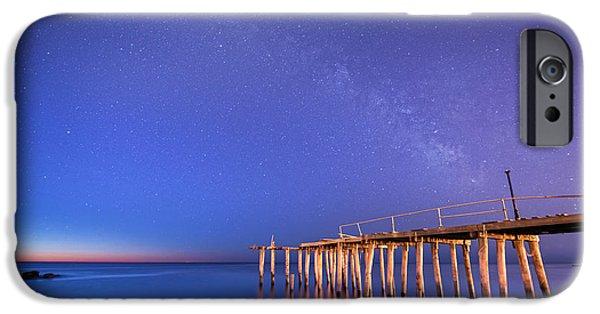 Michael Versprill iPhone Cases - Milky Way Sunrise iPhone Case by Michael Ver Sprill