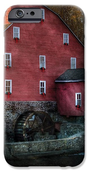 Mill - Clinton NJ - The old mill iPhone Case by Mike Savad