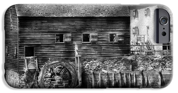 Grist Mill iPhone Cases - Mill - Sleepy Hollow NY - By the mill  iPhone Case by Mike Savad