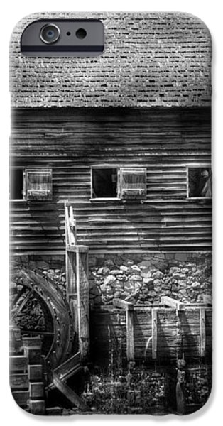 Mill - Sleepy Hollow NY - By the mill  iPhone Case by Mike Savad
