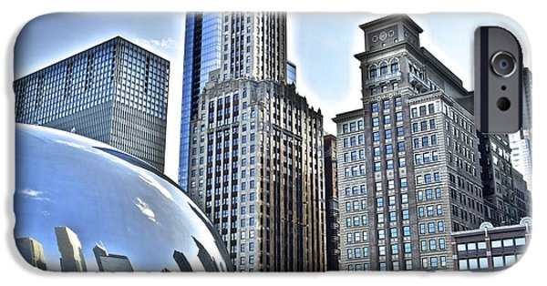 Jordan iPhone Cases - Millenium Park iPhone Case by Frozen in Time Fine Art Photography