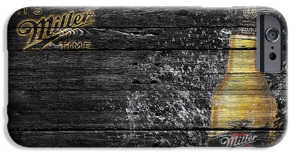 Miller iPhone Cases - Miller Beer iPhone Case by Joe Hamilton