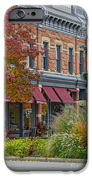 Fort Collins Photographs iPhone Cases - Miller Block iPhone Case by Keith Ducker