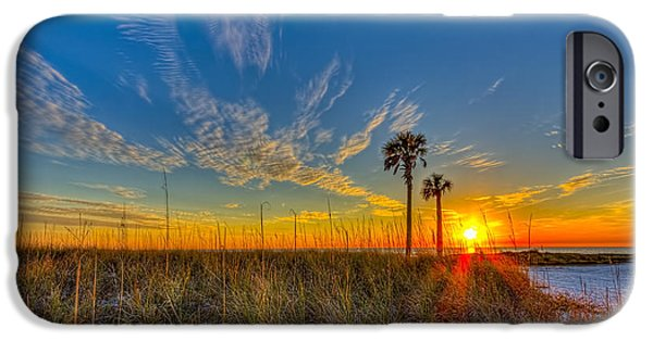 Gulf Shores iPhone Cases - Miller Time iPhone Case by Marvin Spates