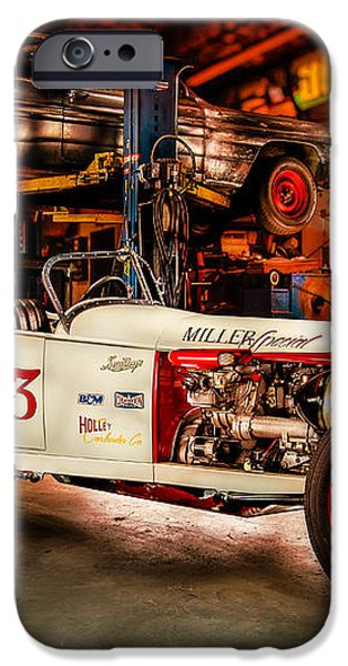 Millers Chop Shop Track T Toyota iPhone Case by Yo Pedro