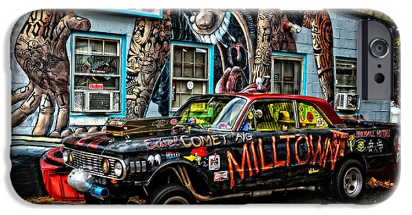 Stp iPhone Cases - Milltowns Edsel Comet iPhone Case by Mike Martin