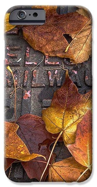 Milwaukee Autumn iPhone Case by Scott Norris