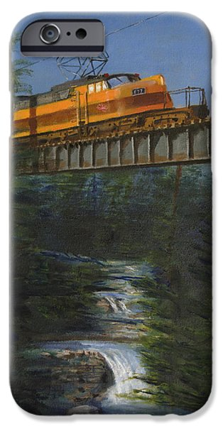 Western Landscape iPhone Cases - Milwaukee Roads Wilderness iPhone Case by Christopher Jenkins
