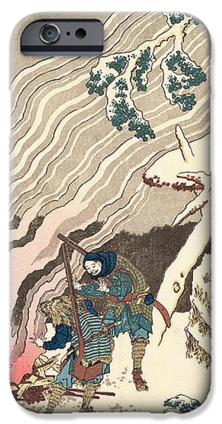 Minamoto no Muneyuki Ason iPhone Case by Hokusai