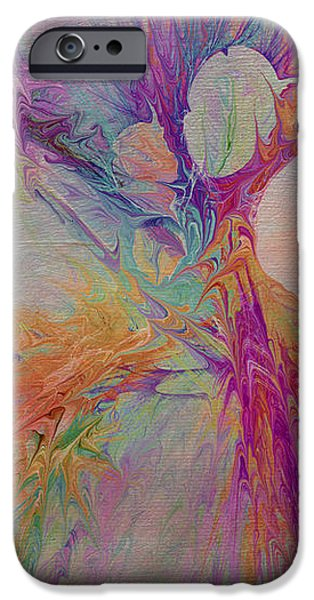 Mind Energy Aura iPhone Case by Deborah Benoit