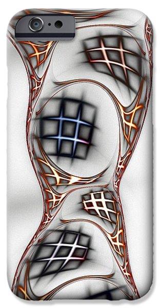 Shape iPhone Cases - Mind Games iPhone Case by Anastasiya Malakhova
