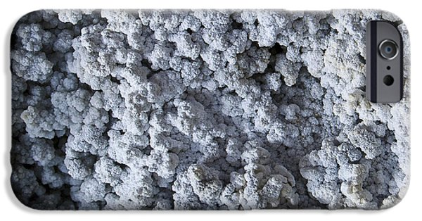 Dirty iPhone Cases - Mineral Texture iPhone Case by Pablo Romero