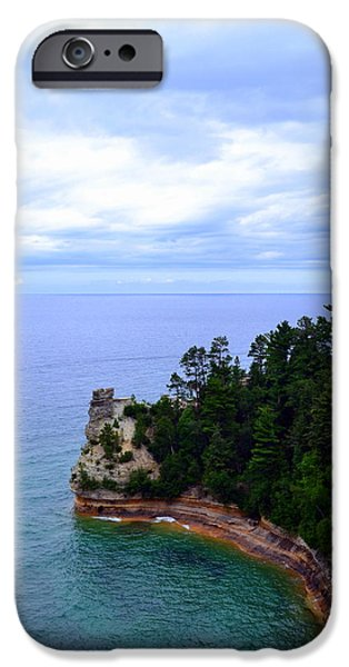 Beautiful Vistas iPhone Cases - Miners Castle iPhone Case by Michelle Calkins