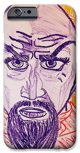 Ming the Merciless iPhone Case by C Alexia