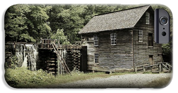 Grist Mill iPhone Cases - Mingus Mill - Color Poster iPhone Case by Stephen Stookey