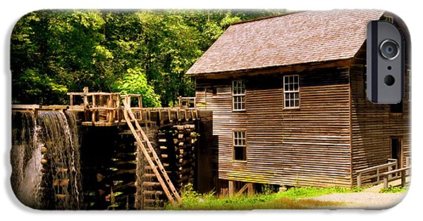 Grist Mill iPhone Cases - Mingus Mill iPhone Case by Karen Wiles