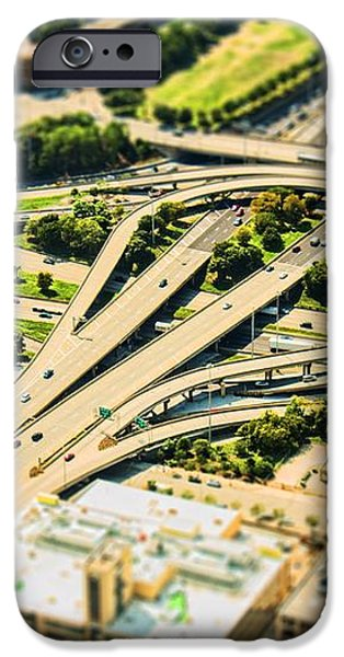 Mini Motorway iPhone Case by Andrew Paranavitana