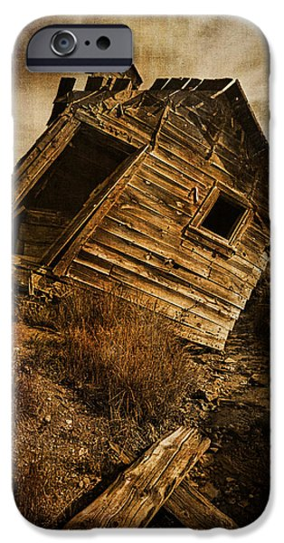 Old School House iPhone Cases - Quartz Mountain 8 iPhone Case by YoPedro