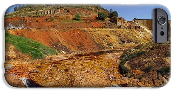 Mining iPhone Cases - Mining Effects On Landscape At Rio iPhone Case by Panoramic Images