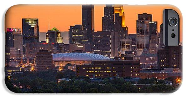 Minneapolis iPhone Cases - Minneapolis iPhone Case by Bryan Scott