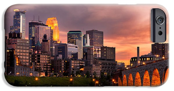 Recently Sold -  - Built Structure iPhone Cases - Minneapolis Minnesota iPhone Case by Adahm Faehn