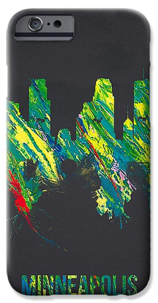 Minneapolis Minnesota USA iPhone Case by Aged Pixel