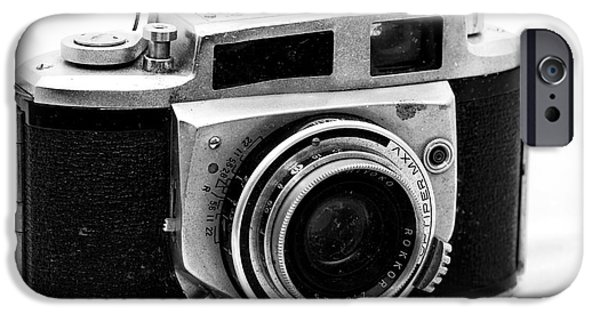 Rangefinder iPhone Cases - Minolta A-2 iPhone Case by John Rizzuto