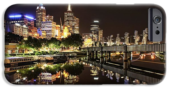 Business Photographs iPhone Cases - Mirror Image iPhone Case by Andrew Paranavitana