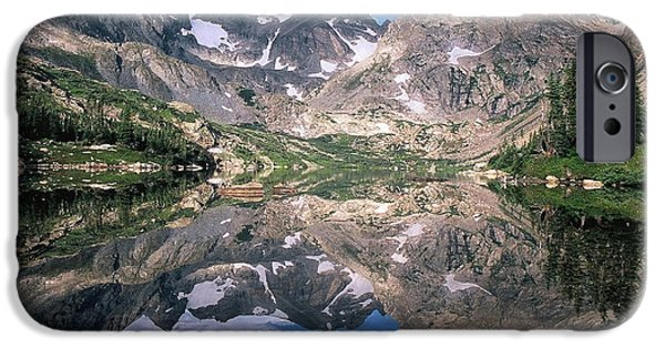 Nederland iPhone Cases - Mirror Image iPhone Case by Eric Glaser