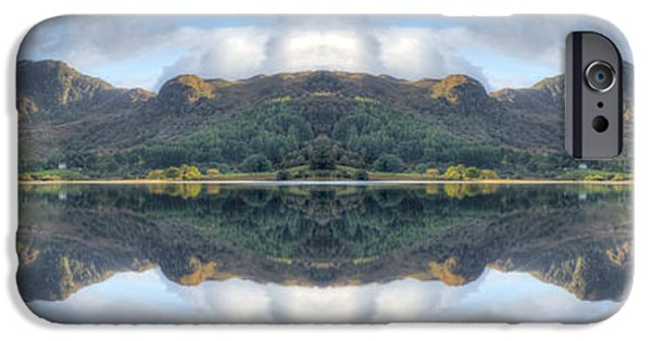 Autumn iPhone Cases - Mirror Lake iPhone Case by Adrian Evans