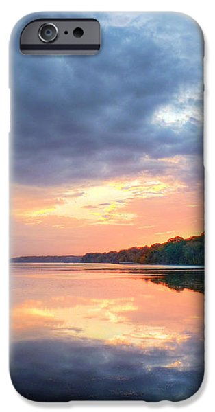 Mirrored Sunset iPhone Case by JC Findley